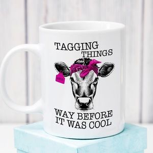 Other - Tagging Things Coffee Mug